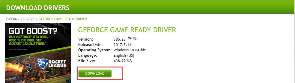download geforce drivers