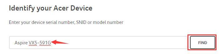 choose acer model