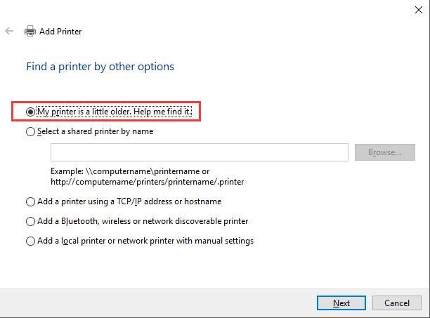 help me find the printer