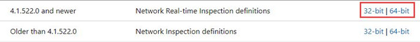 network real time inspection definition