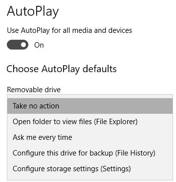 removable drive option
