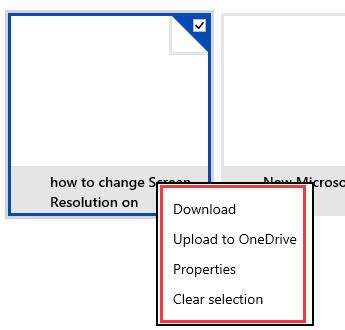 select files to fetch or download