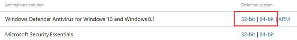 windows defender antivirus for windows 10