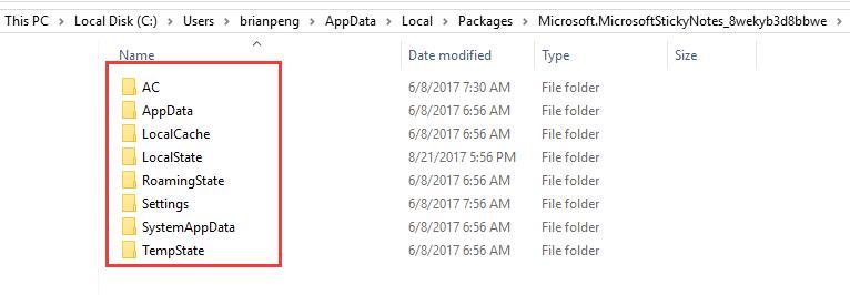 copy sticky notes files