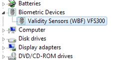 validity fingerprint sensor