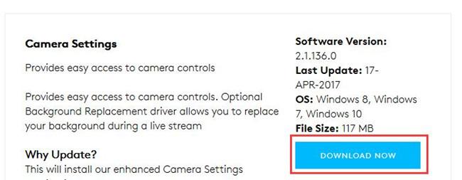 download logitech camera drivers windows 10