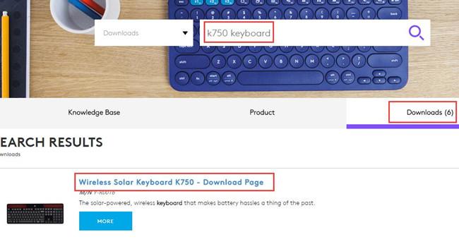 logitech wireless solar keyboard k750 driver