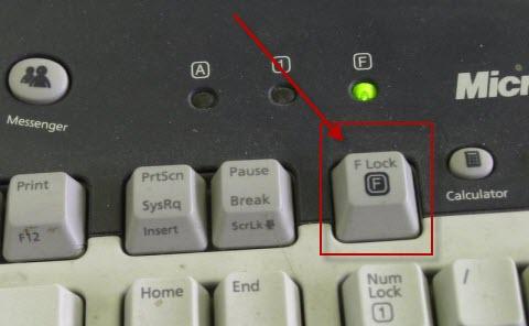 f-lock keys