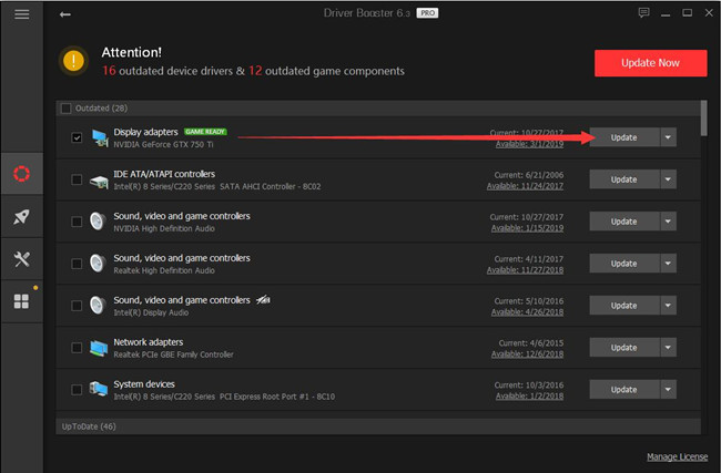 driver booster nvidia drivers