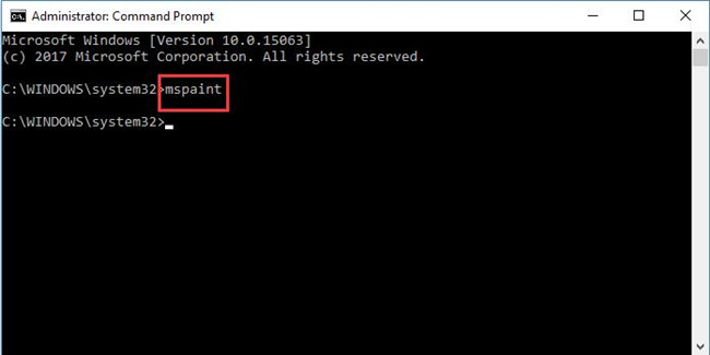 enter mspanit in command prompt