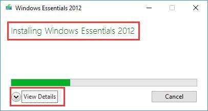 installing windows essentials
