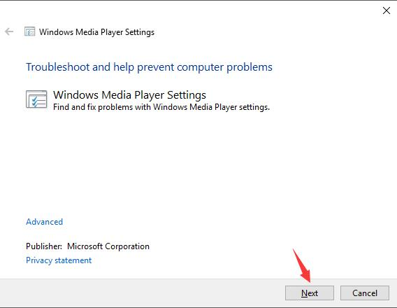windows media player settings computer problems