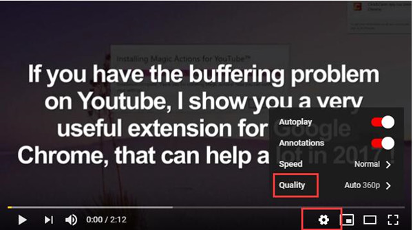 youtube quality settings