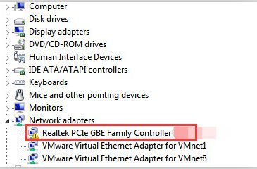realtek pci gbe controller issue