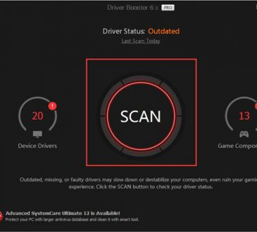 driver booster scan