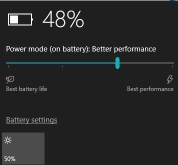 battery icon missing