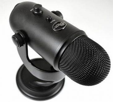 blue yeti microphone not recognized