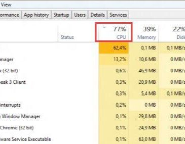 change cpu priority to foreground apps