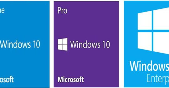 compare window home pro enterprise