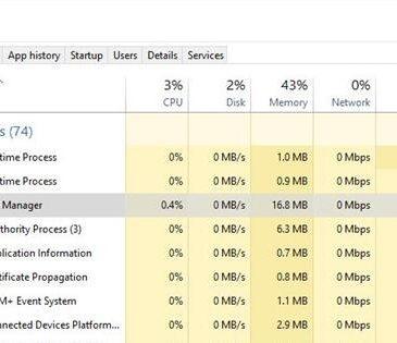 desktop window manager high cpu usage