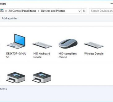device and printer not open