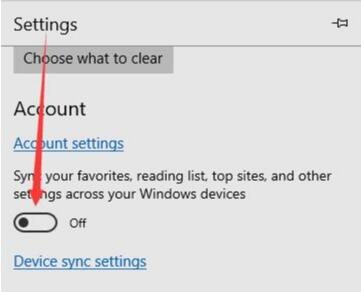 disable favorites sync