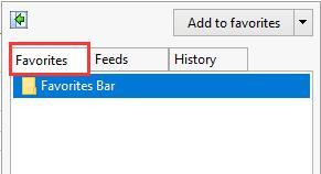Solved: Favorites Missing In Microsoft Edge on Windows 10