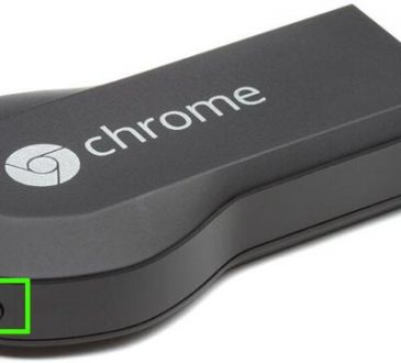 how to factory reset chromecast
