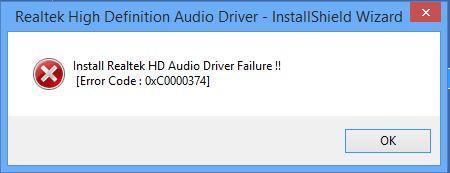 install rea;tek hd driver