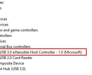 intel usb 3.0 extensible host controller