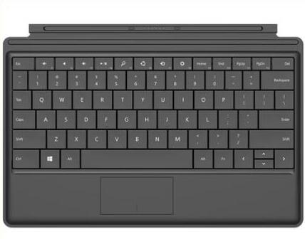 surface keyboard not working