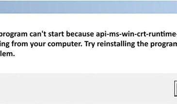 api ms crt runtime 1-1-0.dll missing