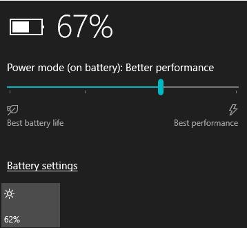 wifi drops on battery power