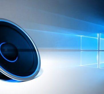 windows 10 audio