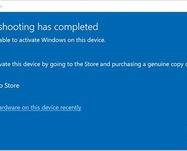 Windows 10 Deactivated Itself