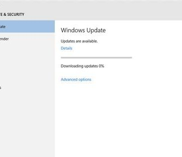 windows 10 update stuck downloading