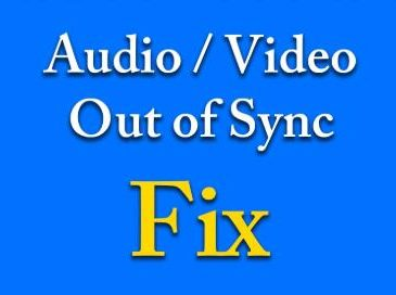youtube audio and video out of sync