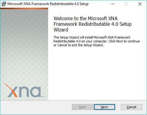 microsoft xna framework redistributable 3.1