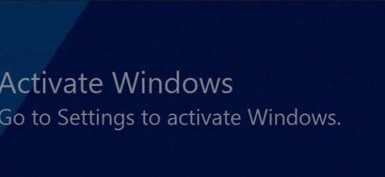 how to remove activate windows watermark