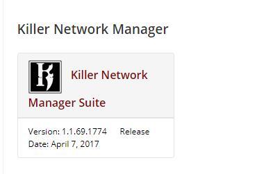 killer network manager suite