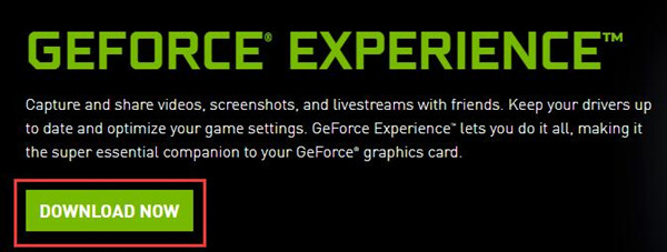download geforce experience