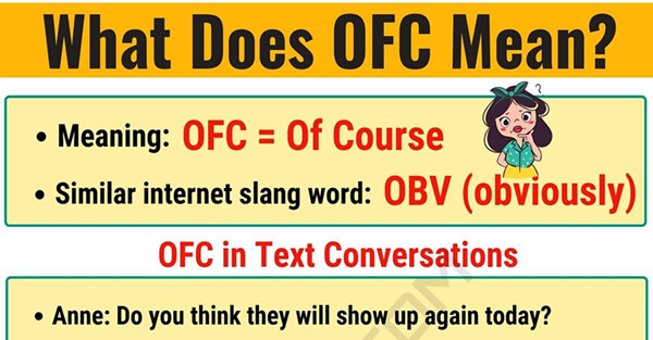 example of using ofc
