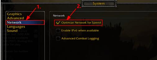 optimize network for speed