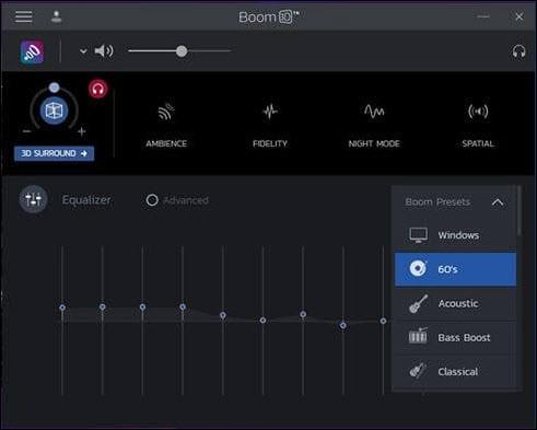 volume booster boom properties