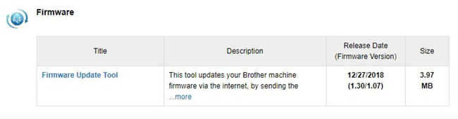 brother hl-3170cdw printer firmware download and update