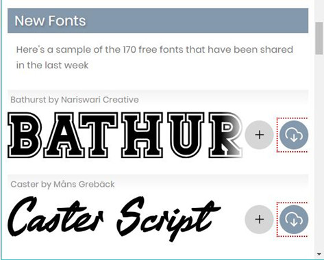 download fonts on fontspace