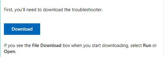 download program installer and uninstaller troubleshooter