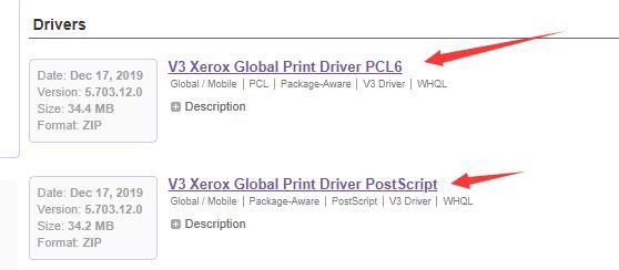 v3 xerox global printer driver pcl6