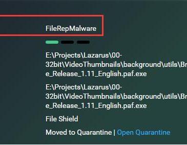 filerepmalware what it is