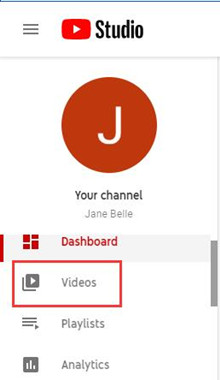 videos in youtube your channel